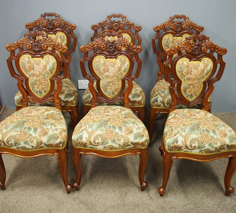 Set of 8 Carved Walnut Dining Chairs-georgian-antiques-1_Set 8 Chairs-main-636661354614296583.jpg