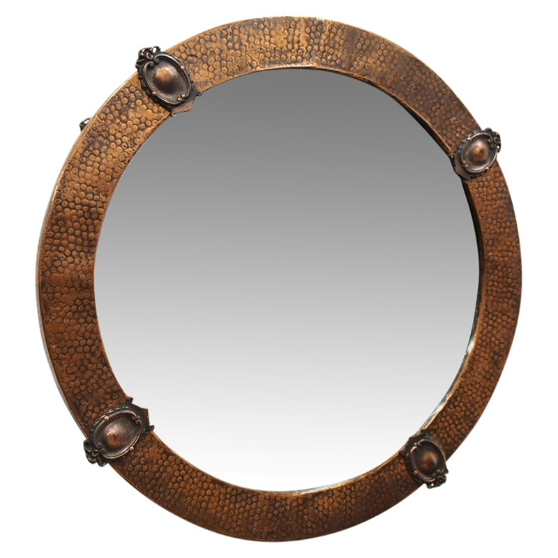 Copper Framed Circular Mirror-georgian-antiques-26553-main-636619010991909387.jpg