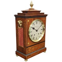 William IV Style Mantel Clock by Herbert Blockley