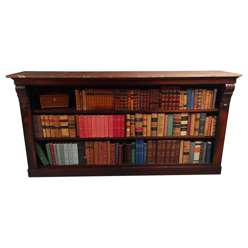 William IV Rosewood and Pink Marble Bookcase-georgian-antiques-3407-main-637473669837800633.jpg