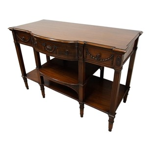 Adams Style Mahogany Side or Hall Table