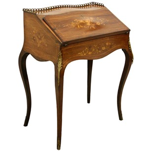 French Ladies Writing Desk/Bureau de Dame