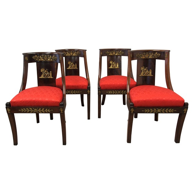 Set of 4 Empire Revival Side Chairs-georgian-antiques-Empire Revival Side Chairs_main_636268361489899494.jpg