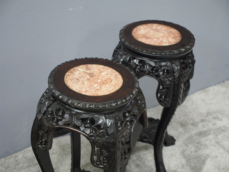 Pair of Neat Chinese Rosewood Plant Stands-georgian-antiques-P1010068-main-636734630229652582.JPG