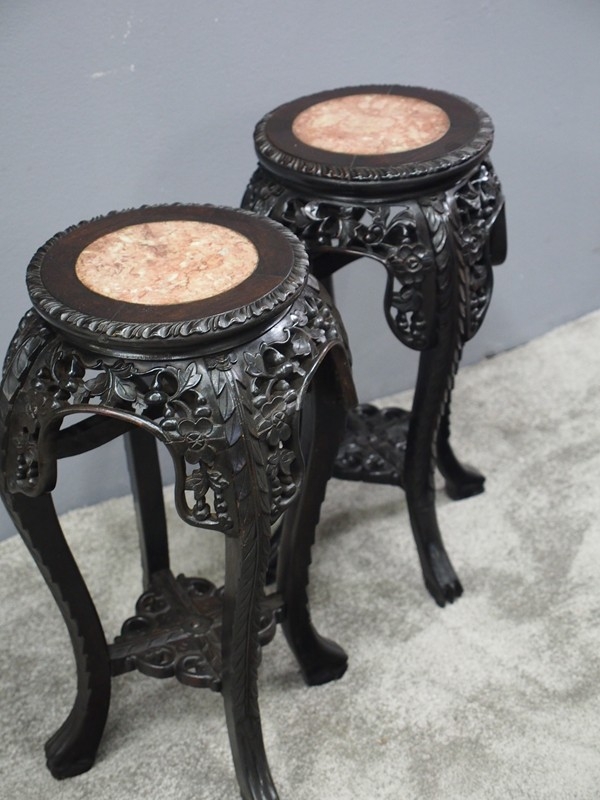 Pair of Neat Chinese Rosewood Plant Stands-georgian-antiques-P1010069-main-636734630289091249.JPG