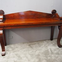 Scottish Mahogany Serving Table in Manner of James