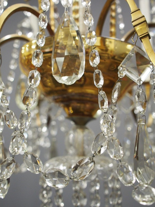 Large Gilt Brass and Glass Chandelier-georgian-antiques-P1010535-main-636776204384181301.JPG