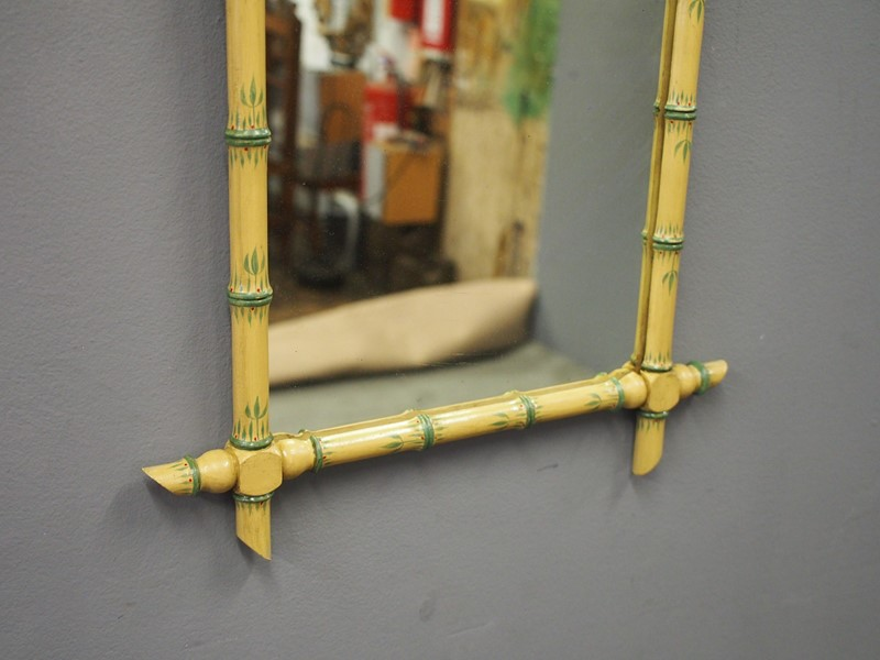 Pair of Faux Bamboo Wall Mirrors-georgian-antiques-P1011102-main-636776209617916153.JPG