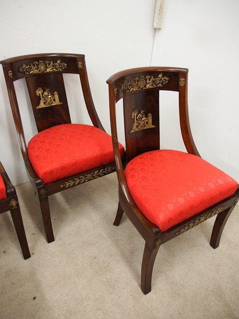 Set of 4 Empire Revival Side Chairs-georgian-antiques-P1130719_main_636268361957611478.JPG