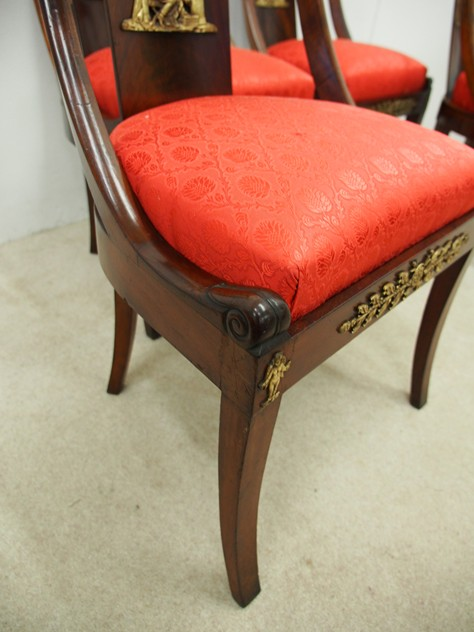 Set of 4 Empire Revival Side Chairs-georgian-antiques-P1130721_main_636268362562922518.JPG