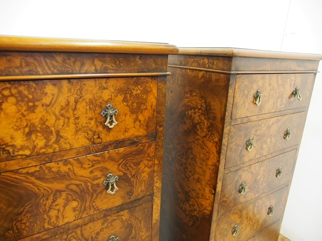 Pair of Victorian Burr Walnut Chest of Drawers-georgian-antiques-P3300955_main_636286340928240247.JPG