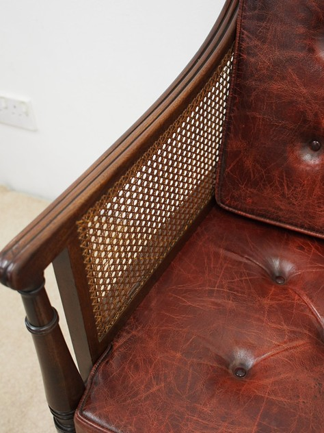 Scottish Regency Mahogany Bergere or Library Chair-georgian-antiques-P5030582_main_636364987116199959.JPG