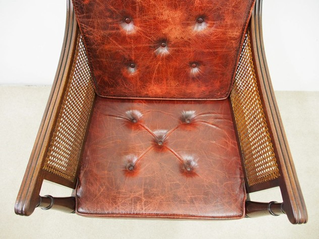 Scottish Regency Mahogany Bergere or Library Chair-georgian-antiques-P5030585_main_636364987193423919.JPG