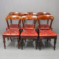 Set of 6 Edinburgh Style Mahogany Dining Chairs