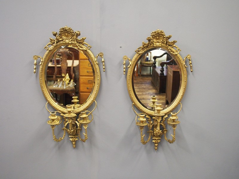 Pair of 19th Century Giltwood and Gesso Girandole -georgian-antiques-p1013377-main-637048402929102061.JPG