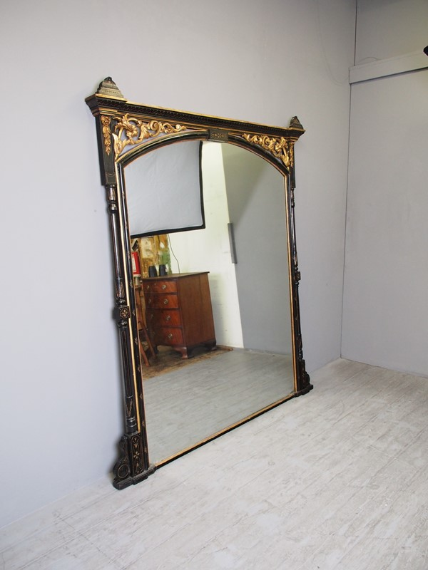Aesthetic Movement Style Overmantel Mirror-georgian-antiques-p1014072-main-636873017328436717.JPG