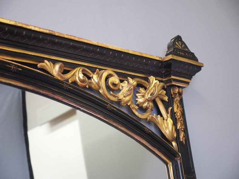 Aesthetic Movement Style Overmantel Mirror-georgian-antiques-p1014075-main-636873017432185856.JPG