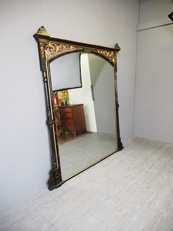 Aesthetic Movement Style Overmantel Mirror-georgian-antiques-p1014080-main-636873017537965887.JPG