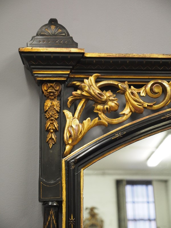 Aesthetic Movement Style Overmantel Mirror-georgian-antiques-p1014091-main-636873017638596647.JPG