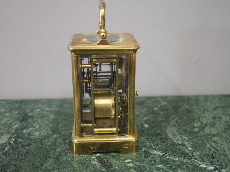 French Glass and Brass Carriage Clock-georgian-antiques-p1016267-main-637079355374733044.JPG