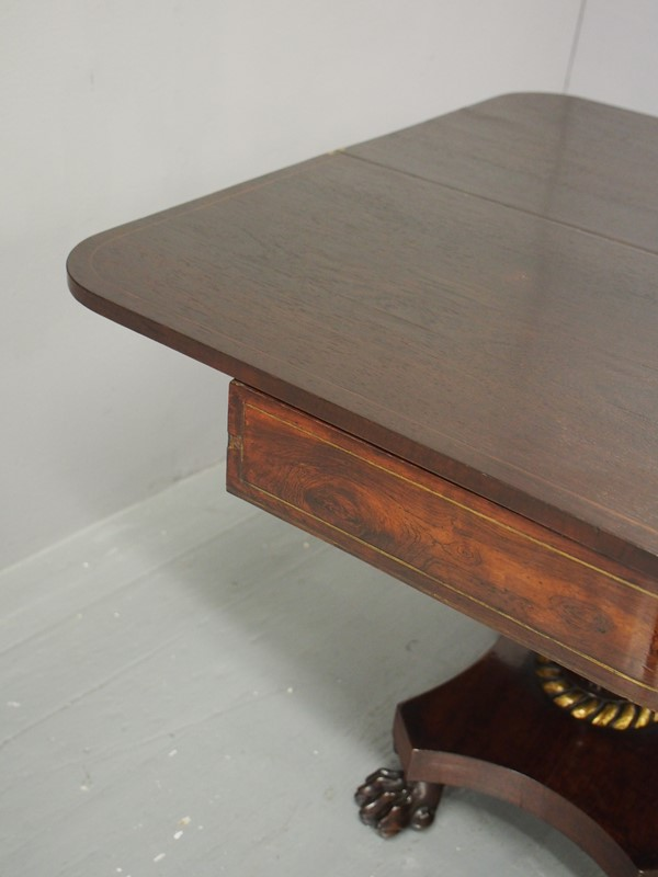Regency Rosewood and Brass Inlaid Foldover Table-georgian-antiques-p1017980-main-637090737197555288.JPG