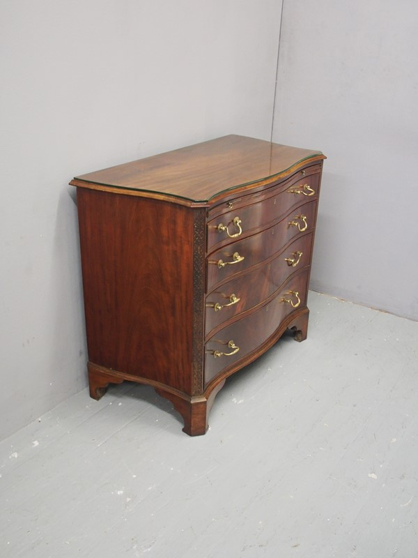Chippendale Style Mahogany Chest of Drawers-georgian-antiques-p1223514-main-637170226862348737.JPG