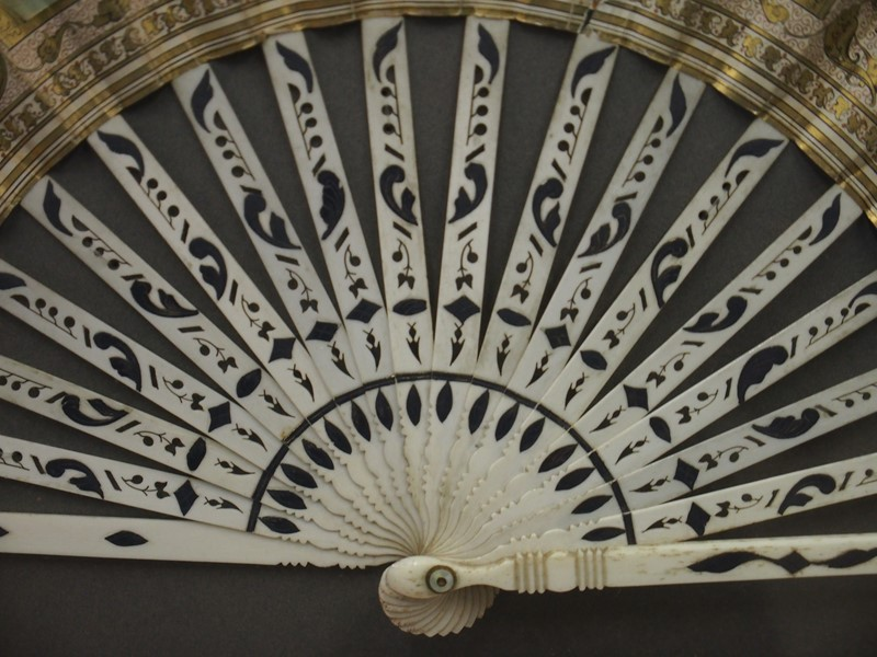 Continental Paper and Inlaid Bone Fan-georgian-antiques-p2186324-main-637187483542479110.JPG
