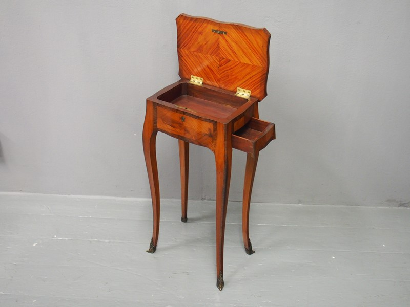 French Kingwood and Tulipwood Occasional Table-georgian-antiques-p2266926-main-637199612765002952.JPG