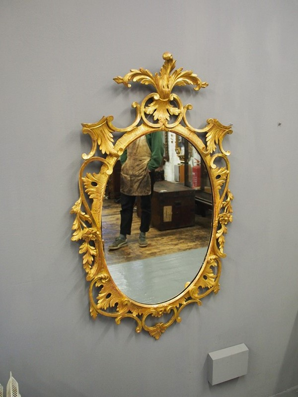 Adams Style Carved Wood and Gilded Oval Mirror-georgian-antiques-p2277500-main-637233311419339375.JPG