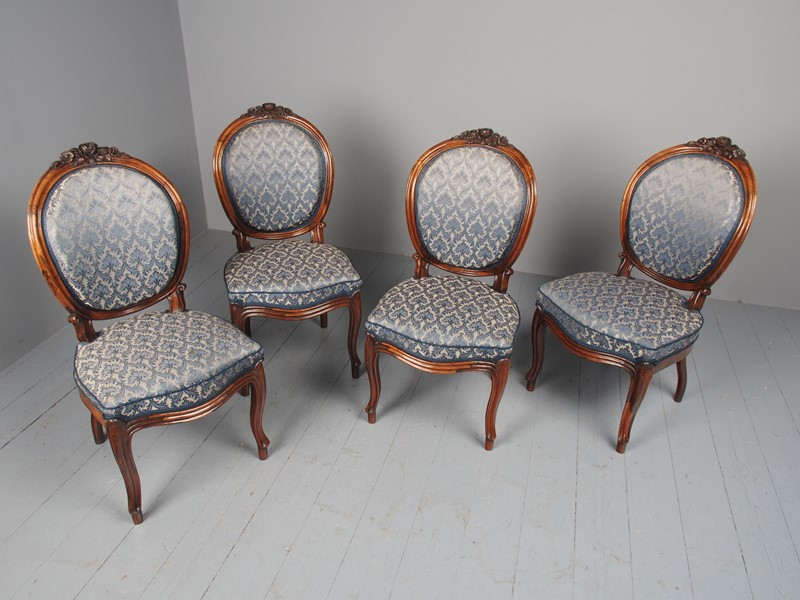 Antique Set of 4 Carved Rosewood Side Chairs-georgian-antiques-p3046735-main-637536501542659930.JPG