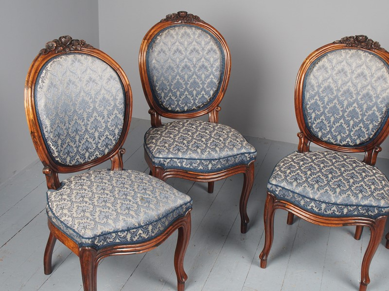 Antique Set of 4 Carved Rosewood Side Chairs-georgian-antiques-p3046739-main-637536501573284793.JPG