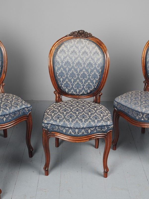 Antique Set of 4 Carved Rosewood Side Chairs-georgian-antiques-p3046743-main-637536501636567668.JPG