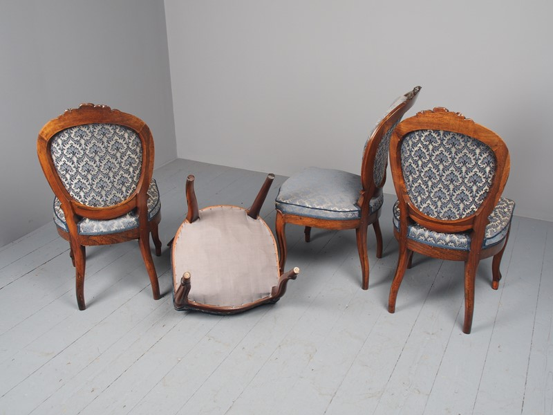 Antique Set of 4 Carved Rosewood Side Chairs-georgian-antiques-p3046753-main-637536501762502364.JPG