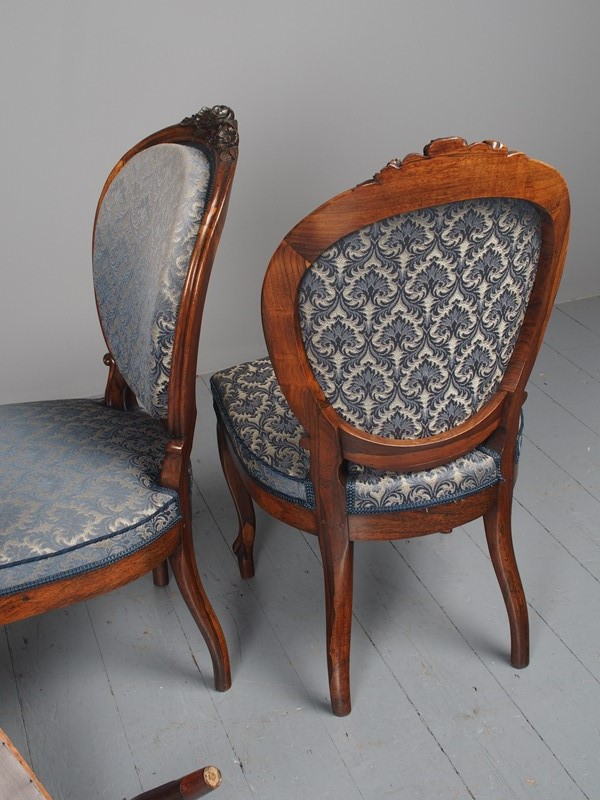 Antique Set of 4 Carved Rosewood Side Chairs-georgian-antiques-p3046758-main-637536501837970845.JPG