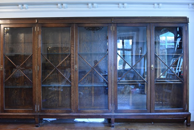18 FOOT WIDE OAK DISPLAY CABINET-haes-antiques-18 FT WIDE HOS CABINET (19) FM_main_636459458288289955.JPG