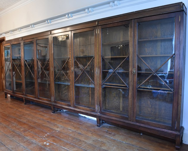 18 FOOT WIDE OAK DISPLAY CABINET-haes-antiques-18 FT WIDE HOS CABINET (23) FM_main_636459458388447091.jpg