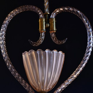 Murano hanging light by Barovier & Toso
