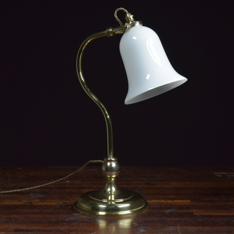 Antique Brass Swan Neck Table Lamp-haes-antiques-DSC_0723CR FM-main-636689900839264214.jpg