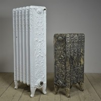 Cherub and Serpent Antique Radiators