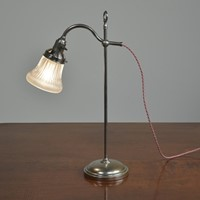 Students Lamp with Holophane Shade
