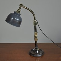 Good Industrial Antique Table Desk Lamp