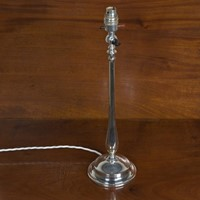 Silver Plated Table Lamp by Faraday & Son