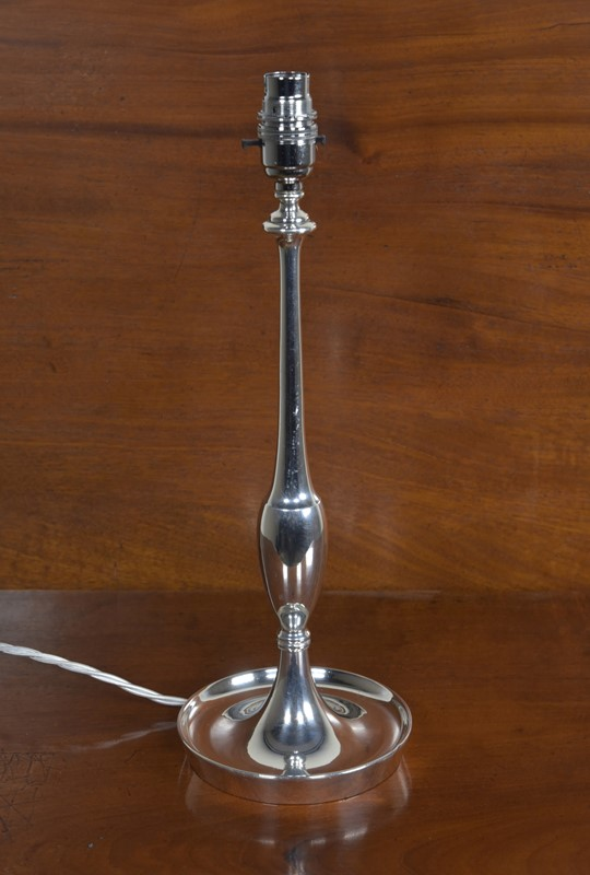 Baluster Stemmed Table Lamp - Silver Plated-haes-antiques-dsc-8976cr-fm-main-637062433838884640.jpg