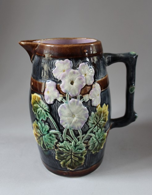 19th century Majolica Jug  -hand-of-glory-035_main.JPG
