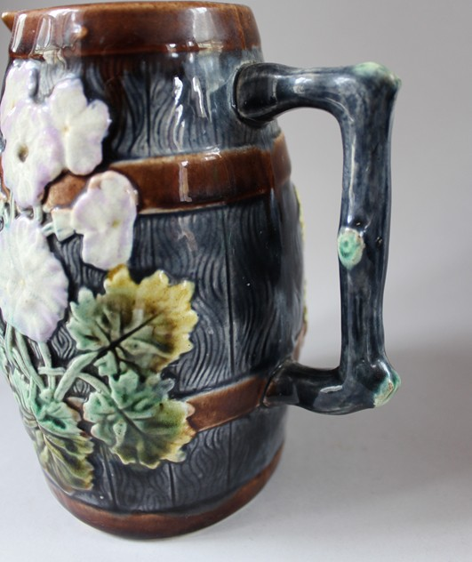 19th century Majolica Jug  -hand-of-glory-036_main.JPG