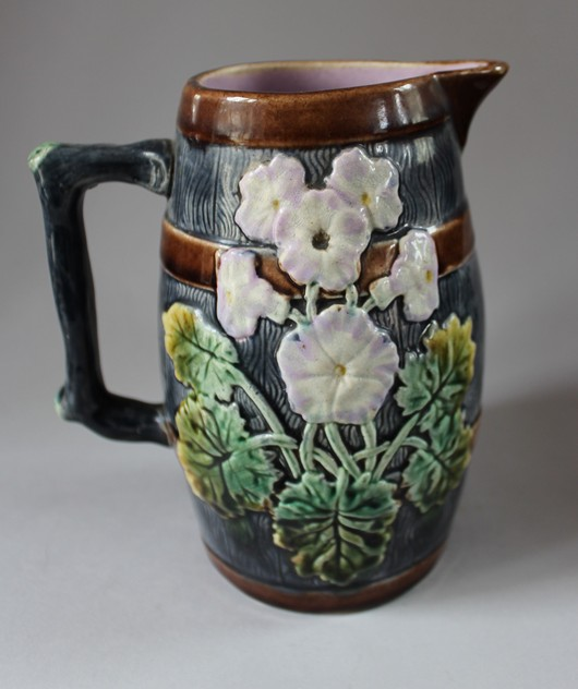 19th century Majolica Jug  -hand-of-glory-037_main.JPG