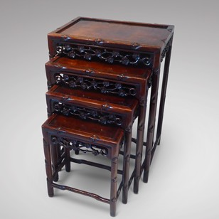 Quartetto of Chinese Occasional Tables