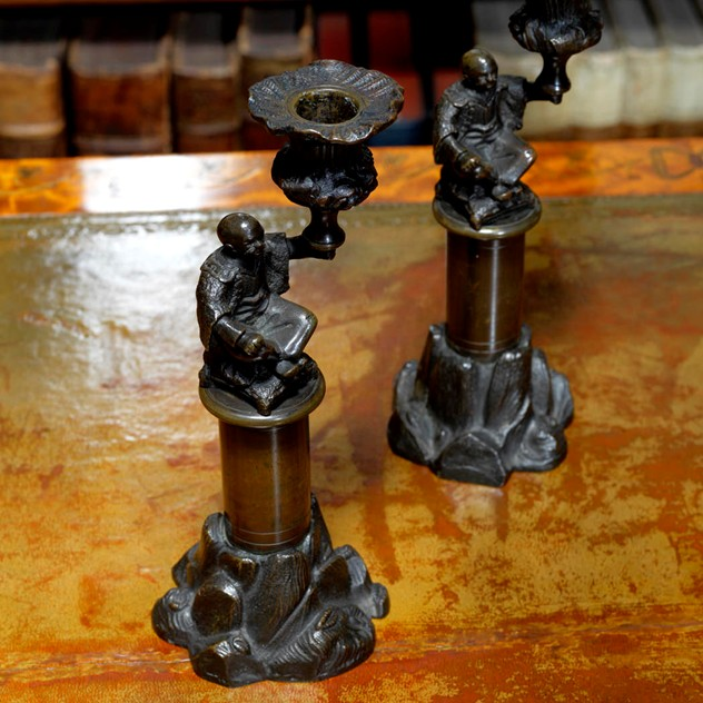 Pair of Regency Patinated Bronze Candlesticks-hobson-may-collection-Hobson May_0239_main_636225750941108757.jpg