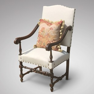 Late 19th Century Open Armchair