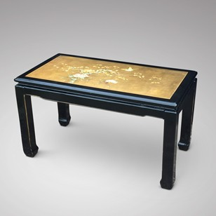 Oriental Lacquered Coffee Table